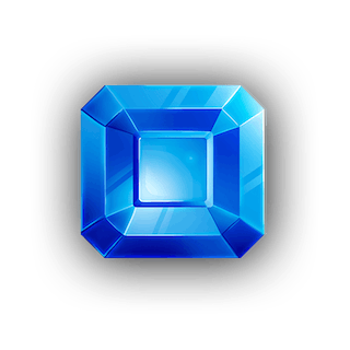 Squared Sapphire Crystal