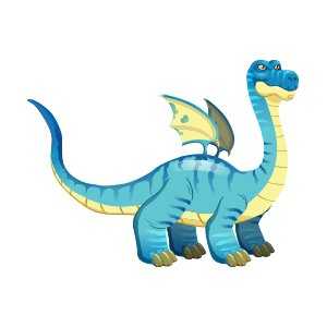Brontosaurus Dragon