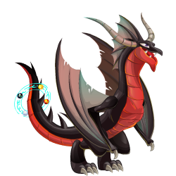 An image of the Abyss Dragon