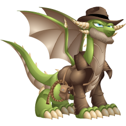 An image of the Adventure Dragon