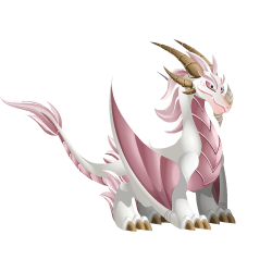 An image of the Albino Dragon