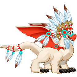 An image of the Amerindian Dragon