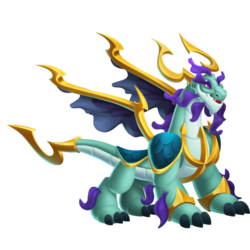 An image of the Aquaking Dragon