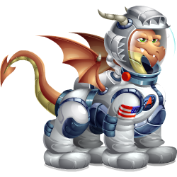 An image of the Astronaut Dragon