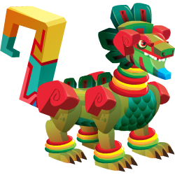 An image of the Aztec Dragon