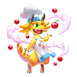 An image of the Baker Dragon