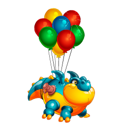 An image of the Balloon Dragon