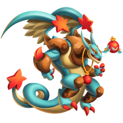 An image of the Baubleblast Dragon