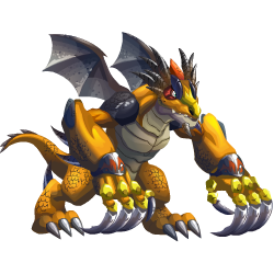 An image of the Big Claws Dragon