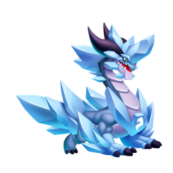 An image of the Blackfrost Dragon