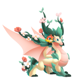 An image of the Blossom Dragon