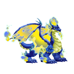 An image of the Blue Fire Dragon