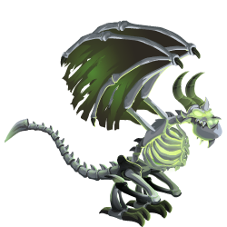 An image of the Bone Dragon