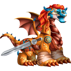 An image of the Brave Sword Dragon