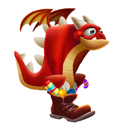 An image of the Candy Boot Dragon