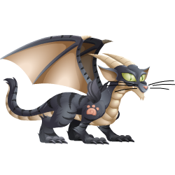 An image of the Cat Dragon