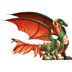 An image of the Celtic Dragon