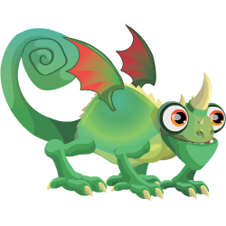 An image of the Chameleon Dragon