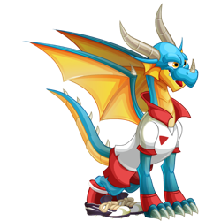 An image of the Cheerful Dragon