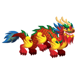 An image of the Chinese Dragon