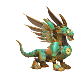 An image of the Clockwork Dragon