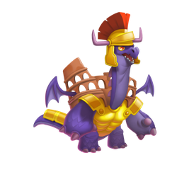 An image of the Colosseum Dragon