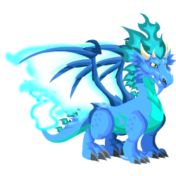 An image of the Cool Fire Dragon