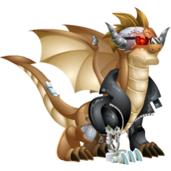 An image of the Cyborg Dragon