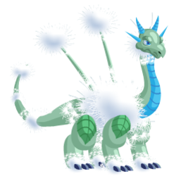 An image of the Dandelion Dragon