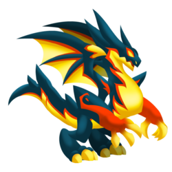 An image of the Dark Ash Dragon