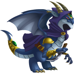 An image of the Dark Elf Dragon