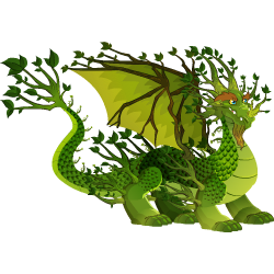 An image of the Deep Forest Dragon