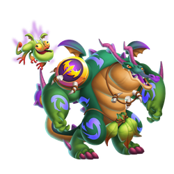 An image of the Deep Jungle Dragon
