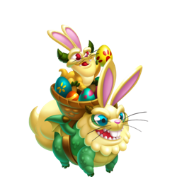 An image of the Delivery Easter Dragon