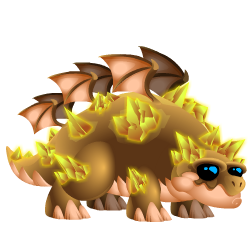 An image of the Desert Dragon