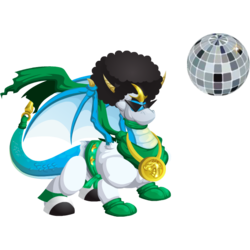 An image of the Disco Ninja Dragon