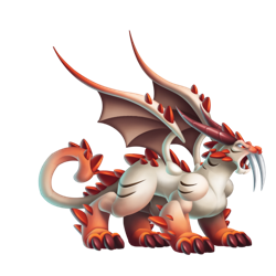An image of the Double Primal Dragon