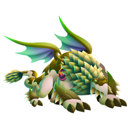 An image of the Durian Dragon