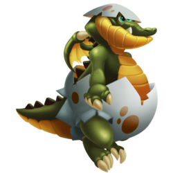 An image of the Eggshell Dragon