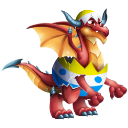 An image of the Eggster Dragon