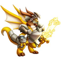 An image of the Electric Knight Dragon
