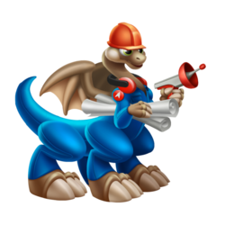 An image of the Engineer Dragon