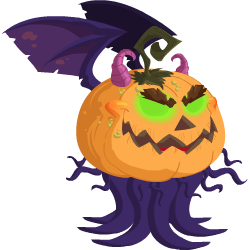 An image of the Evil Pumpkin Dragon