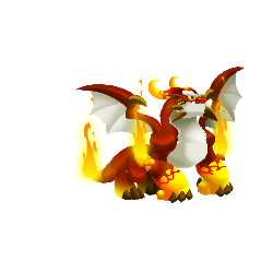 An image of the Fervor Dragon