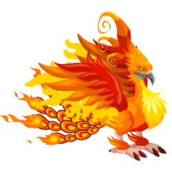 An image of the Firebird Dragon