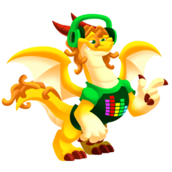 An image of the Free Spirit Dragon