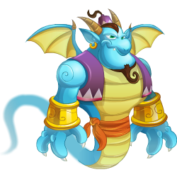 An image of the Genie Dragon