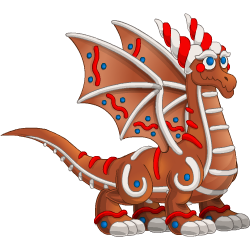 An image of the Gingerbread Dragon
