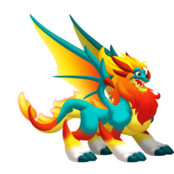 An image of the Glowppy Dragon