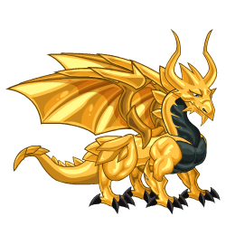 An image of the Gold Dragon